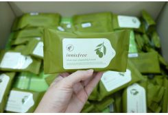 Khăn Giấy Tẩy Trang Innisfree Olive Real
